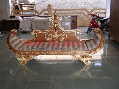 MU-S04 Sofa Model Perahu