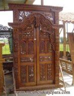 Pintu Rumah Ukiran Gebyok MU-PU04