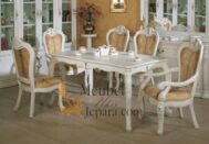 Set Meja Makan French MU-MM36