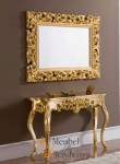 Miror Meja Rias Gold MU-MR29