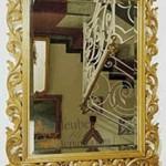 MU-PC04 Cermin Ukiran Klasik Mewah