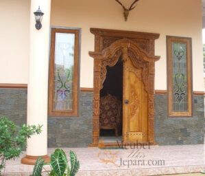 Pintu Gebyok Jawa Rumah Minimalis MU-PU05