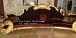 Sofa Ukiran Mewah Gold Red MU-SF44