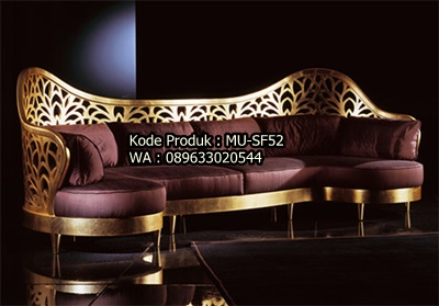 Sofa Mewah Full Ukiran MU-SF52