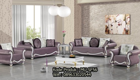 MU-SF56 Set Kursi Sofa Cantik Cat Duco