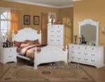 Kamar Tidur Anak Cat Duco Putih MU MM101