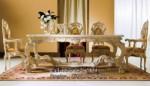 Meja Makan Klasik Dengan Desain Mewah MU-MM90