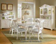 Ruang Meja Makan Nuansa Putih Duco MU-MM101